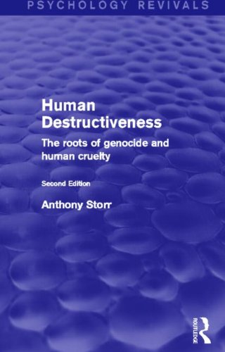 Human Destructiveness (Psychology Revivals)