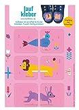 Laufkleber- Schuhaufkleber für Kinder (pink)