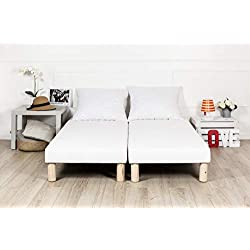 sommier tapissier 70x190 fabrication française 4 pieds offert