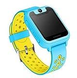 LXFMD Teléfono Inteligente para niños con posicionamiento Anti-pérdida Llamada Paso Color Llamada táctil (Color : D)
