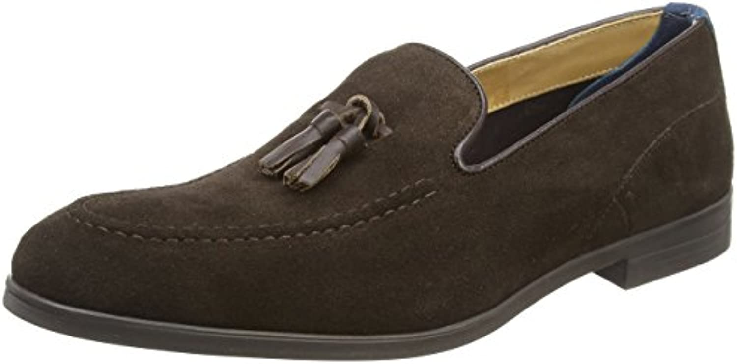 Hudson Herren Dark Brown Slipper