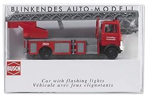 Busch 5608  -Coche de bomberos con luces Importado de Alemania
