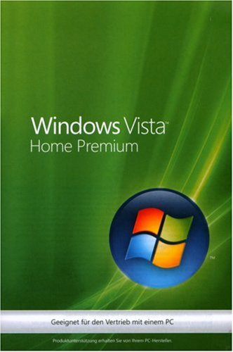 Windows Vista Home Premium 32 Bit OEM