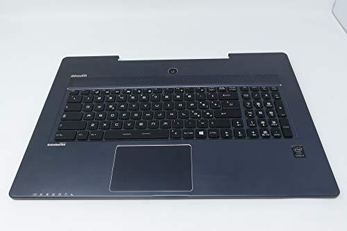 COMPRO PC Uppercase MIT TOUCHPAD UND Tasche für MSI GS-70 2QC-010IT RETROILLUMINATO