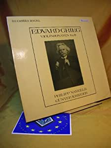 Edvard Grieg - Violinsonaten I u. II Naegele/Krieger ( Vinyl LP )