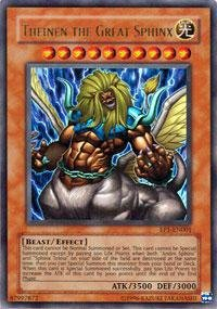 Yu-Gi-Oh! - Theinen the Great Sphinx (EP1-EN001) - Yu-Gi-Oh The Movie Promo Exclusive Pack - Promo Edition - Ultra Rare by Yu-Gi-Oh! (Sphinx Yu Gi Oh)