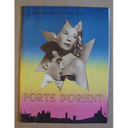 Dossier de presse de Porte d'Orient (1951) – Film de Jacques Daroy avec TIlda Thamar, Nattier, J Huet – 12 p – Photos sépia + résumé du scénario – bon état d'usage.