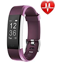 Fitness Tracker HR, Letsfit Activity Tracker Watch with Heart Rate Monitor, IP67 Waterproof Smart Bracelet as Calorie Counter Pedometer Watch for Android and iOS