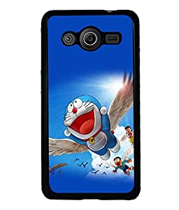 printtech Designer funny cartoon Back Case Cover for Samsung Galaxy Core 2 G355H