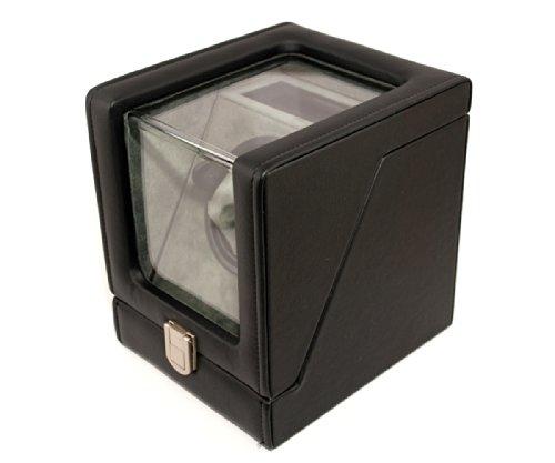 new-automatic-watch-winder-rotater-box-leatherfinish-dark-brown