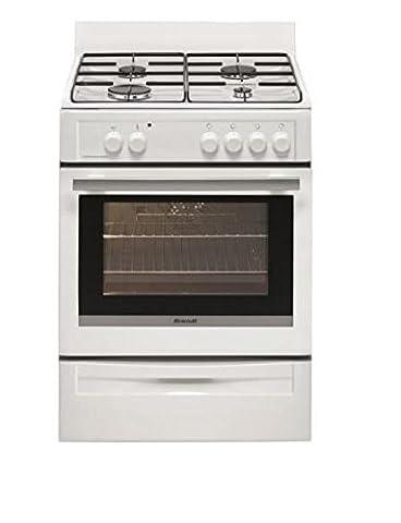 Cuisiniere Gaz Allumage - Brandt BCG6640W Autonome Cuisinière à gaz A