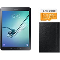 Samsung Galaxy Tab S2 Tablette tactile 9,7 (32 Go, Android 5.0, Wi-Fi, Noir) + Housse + Micro SDXC avec SD adapter