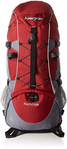 AspenSport - NorthSiope, Zaino da Trekking, 55 Litri