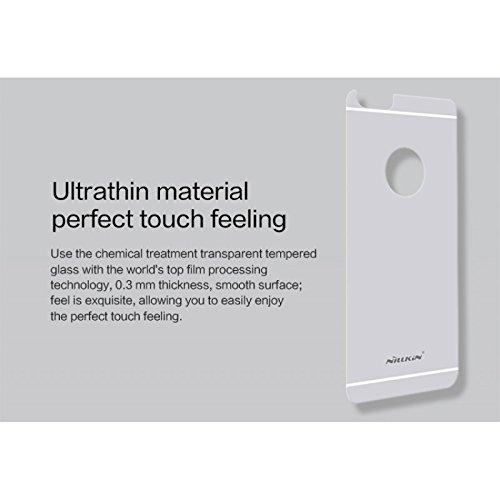 NILLKIN H + Anti Explosion arrière Protection d'écran pour Apple iPhone 6–Parent argent