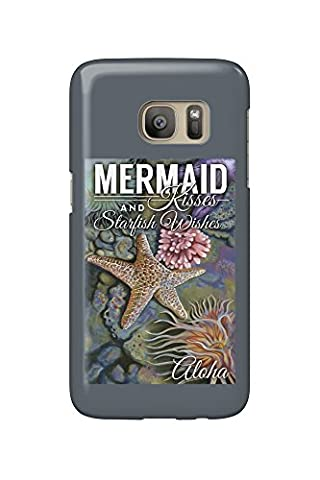 Aloha - Mermaid Kisses and Starfish Wishes - Tidepool (Galaxy S7 Cell Phone Case, Slim Barely There)