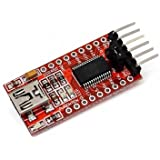 Generic FT232Rl FTDI USB To TTL Serial Converter Adapter Module for Arduino, 36x18mm