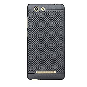 RVDP Premium Dotted Designed Soft Rubberised Back Case Cover for Gionee F103 Pro
