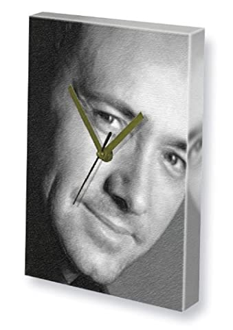 KEVIN SPACEY - Canvas Clock (A5 - Signed by the Artist) #js004