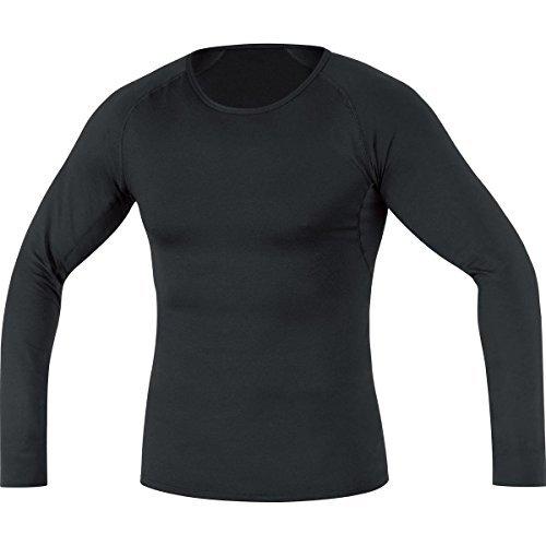 GORE BIKE WEAR Men's Long Sleeve Base Layer Shirt, black, Size: XL, USLMEN990010 by Gore Bike Wear
