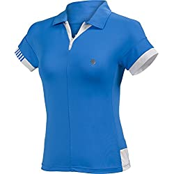 K-Swiss cintura-ropa{66} polo para mujer, azules, XL, 190103-464