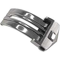Stainless Steel Deployment Clasp to fit TAG Heuer Carrera & Monaco models