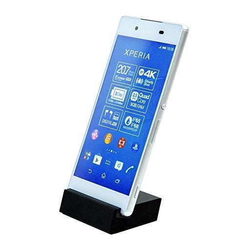 MP power @ Dock Cradle Caricabatterie + USB Data cable per Sony Xperia Z5 / Z5 Compact / Z5 Premium E6603 E6653 E5803 E5823 E6853