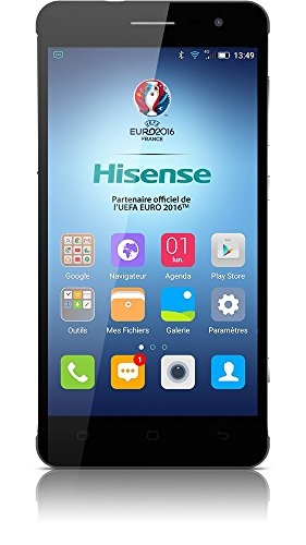 Hisense HS-C20 - Smartphone libre Anndroid (4G, pantalla 5
