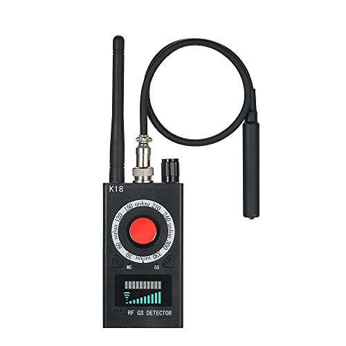 KKmoon Anti-Spion Detektor 【Kamera GSM Audio Bug Finder/GPS Signal Objektiv RF Tracker】