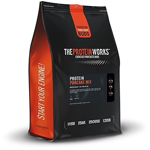 THE PROTEIN WORKS Loaded Mix Pancake Proteici, Natural, 1 kg