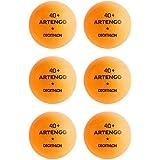 Artengo TTB 100* 40+ Table Tennis Ball 6-Pack