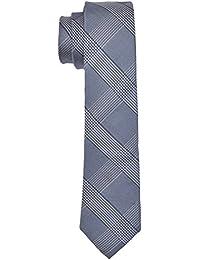 Seidensticker Herren Krawatten 6, Blau (Blau 16), One Size (Herstellergröße:6 cm breit)