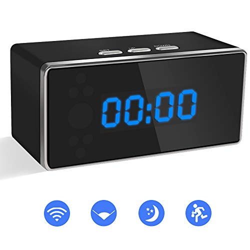 Camara Espia Oculta WiFi Reloj Despertador 1080P TANGMI