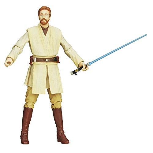 Star Wars Hasbro – A5627 The Black Series – Obi-Wan Kenobi – 10cm Action Figur, sehr detailliert und mit beweglichen Gelenken