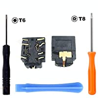 Yoogeer 2Pcs 3.5mm Port Headphone Jack Torx T8H T6 Screwdriver Set for Xbox one S Controller