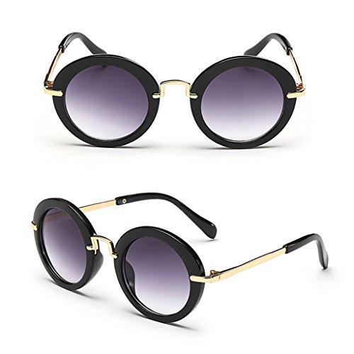 Vivitoch Modische Baby-Brille für Kinder, Jungen, Mädchen, Retro-Anti-UV400-Sonnenbrille Bb