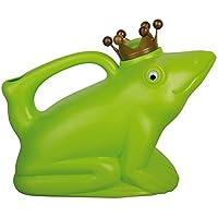 Esschert Design Gießkanne Froschkönig grün
