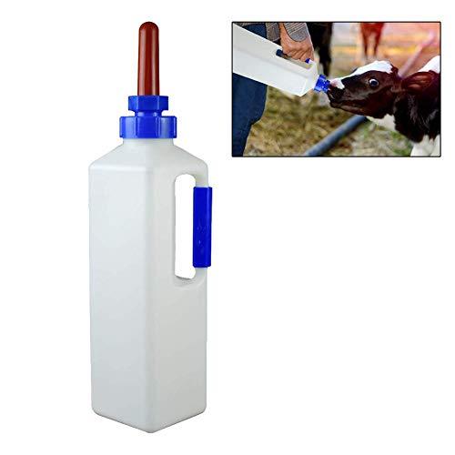 Arzja 3L Biberon per Vitello con Capezzolo Pecora Agnello Bottiglia Titolare Alimentazione