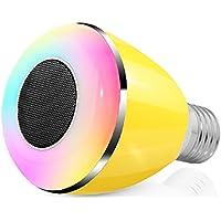 Smart Musica Lampadina LED, Megadream® Smart Wireless Bluetooth 4.0Audio Musica altoparlante + intelligente Two-in-One Convertire (Animated Christmas Decor)