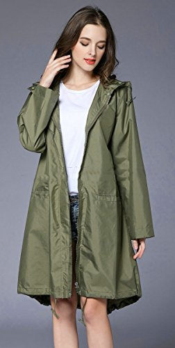 Ouvin - Manteau imperméable - Femme Armygreen