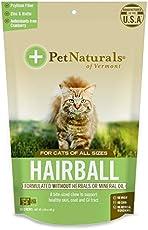 Pet Naturals von VT Hairball Nahrungsergänzungsmittel für Katzen (30Zählen) Net Wt. 1,59oz (45g)