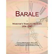 Barale: Webster's Timeline History, 1936-2007
