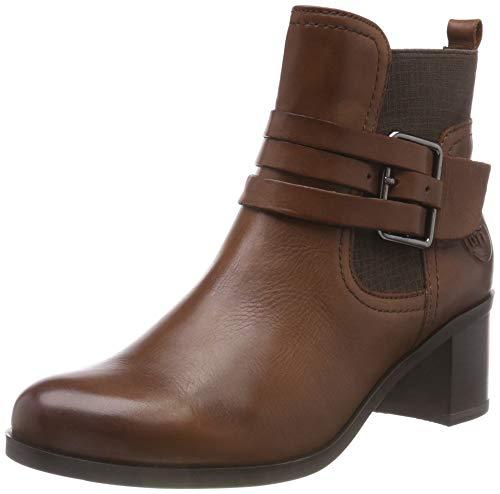 Marco Tozzi Premio Damen 25302-21 Chelsea Boots, Braun (Cognac Antic 310), 37 EU
