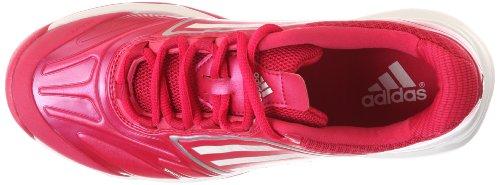 Adidas Adizero Tempaia II Femme Chaussures de Tennis, Rose BriPnk/Runwht/Metsil