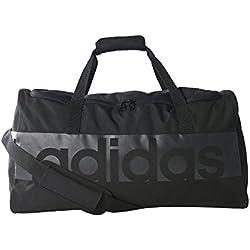 adidas S96148 Sac de Sport Mixte Adulte, Noir/Gris foncé, Taille : M