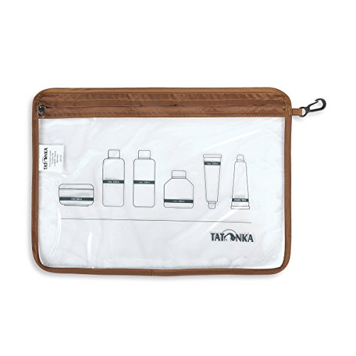 Flight Bag (Tatonka Zip Flight Bag A4 Beutel, Transparent, 30,5 x 22 cm)