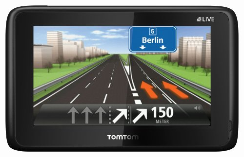 TomTom Go Live 1015 M Europe, FREE Lifetime Maps & 1 Jahr HD Traffic, 13 cm (5 Zoll) Fluid Touch Display, 45 Länder, HD Traffic, LIVE Services, Fahrspur- & Parkassistent, Sprachsteuerung, IQ Routes (Tom Tom Lifetime Maps)
