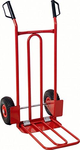 KS TOOLS 160.0226 Diable avec bavette roues gonflables - 250 kg