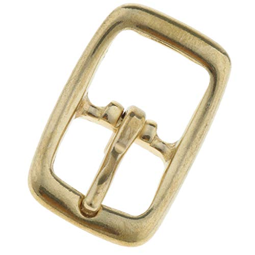B Baosity Adjustable Brass Buckle Bag Strap Connector Accessories for Craft Sewing - 16mm
