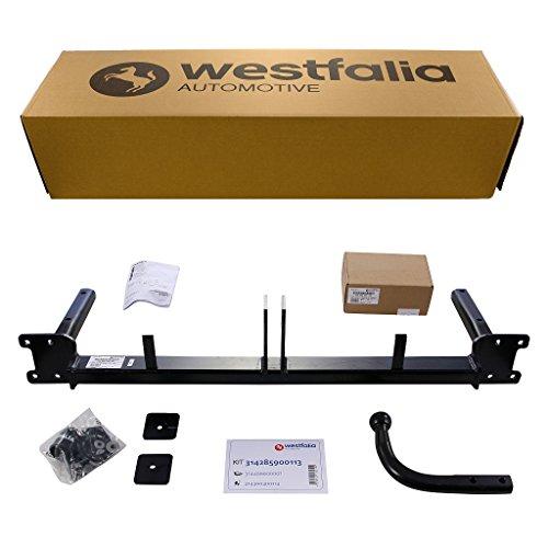 Westfalia starre Anhängerkupplung - AHK für Opel Astra H Caravan - Im Set mit 13-poligem fahrzeugspezifischem Westfalia Elektrosatz