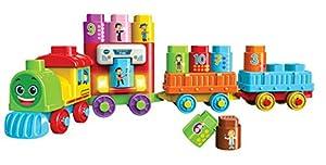 VTech Bla Bla Blocks Trein - Juegos educativos (1,5 año(s), 5 año(s), Holandés, De plástico, CE, AAA)